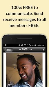 BDFF ♥ 100% Free Black Dating screenshot 1