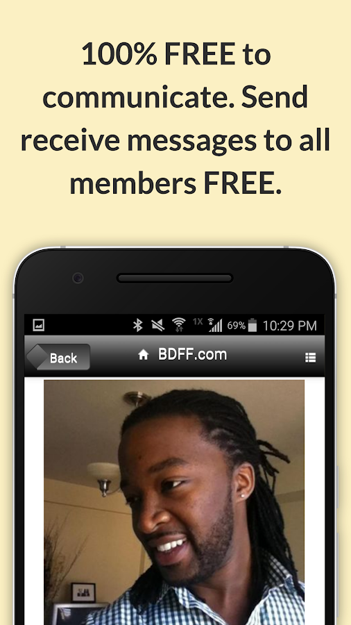 BDFF ♥ 100% Free Black Dating- screenshot