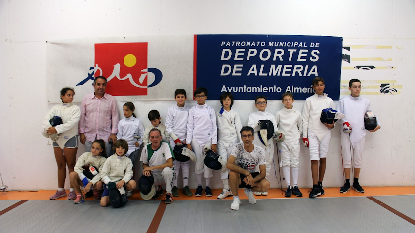 Los participantes en el evento.