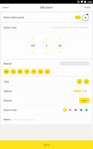 AlarmMon - Free Alarm Clock 7.3.7 screenshots 8