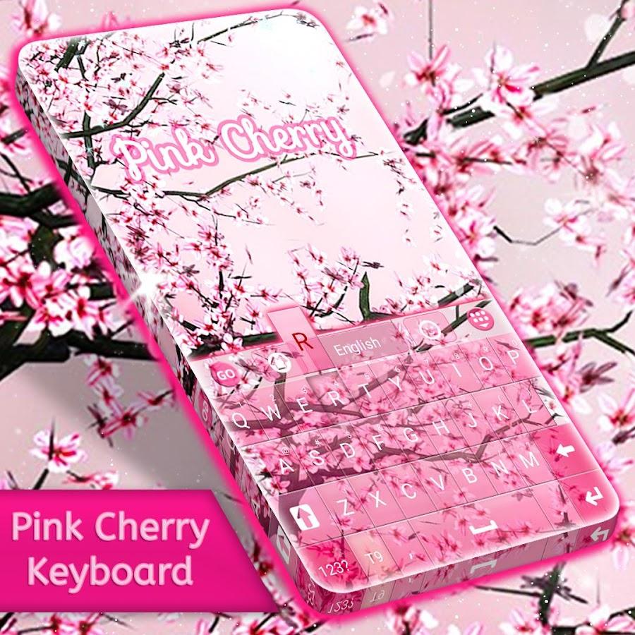 Google chrome themes zebra - Pink Cherry For Go Keyboard Screenshot