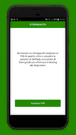 StrongAuth Mobile screenshot 1