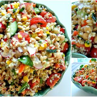 Bulgur Veggie Salad Recipe