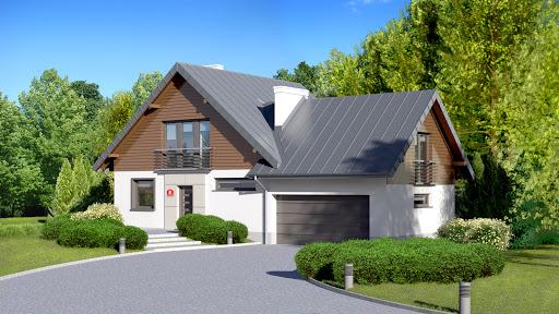 projekt Dom przy Cyprysowej 8