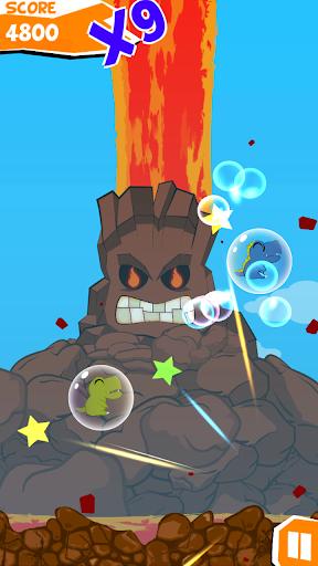 Dine Bomb Bubble Blast screenshot 2