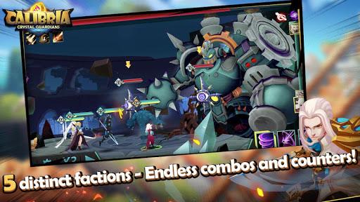 Code Triche Calibria: Crystal Guardians mod apk screenshots 3