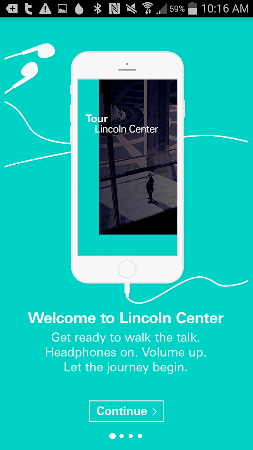 Tour Lincoln Center- screenshot