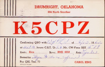 Photo: Carol King Lynch K5CPZ 1962 current W6CL