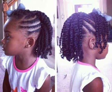 Kids Hairstyle Braids Screenshot Thumbnail