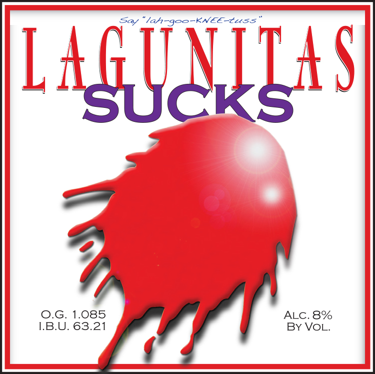 Logo of Lagunitas Sucks