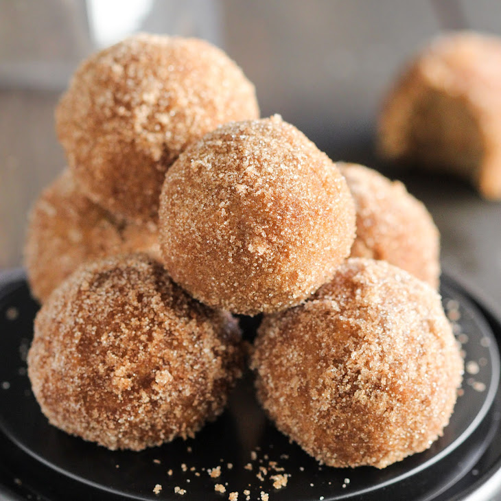 Healthy Baked Pumpkin Donut Holes Recipe