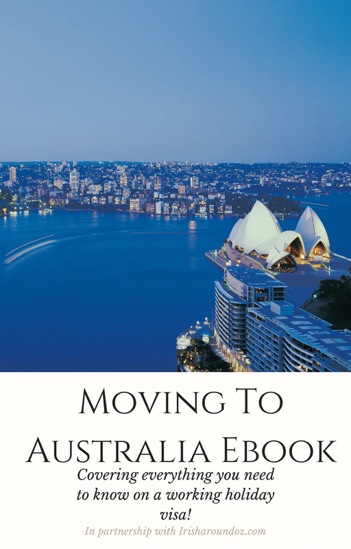 Moving to Australia Ebook page
