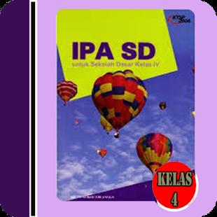 Buku Sekolah IPA SD Kelas 4 - náhled