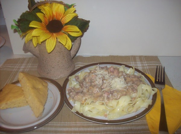 To assemble and serve. Place a serving of cooked linguine pasta onto the center...