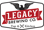 Logo for Legacy Brewing Tap and Kitchen