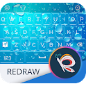 Keyboard Theme Blue for Redraw icon