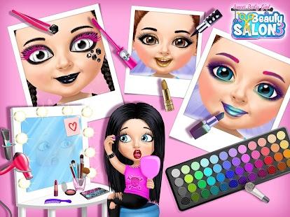 Sweet Baby Girl Beauty Salon 3 - Hair, Nails & Spa Screenshot