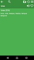 Screenshot of English Latin Dictionary Free