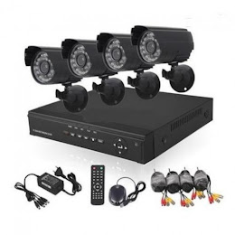 Kit supraveghere video Sistem CCTV 4 Camere + DVR