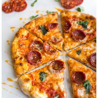 Hot Honey and Soppressata Pizza.