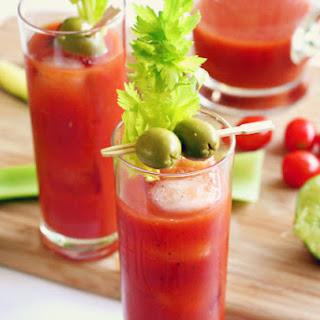 Tgif >> Sriracha + Wasabi Bloody Mary