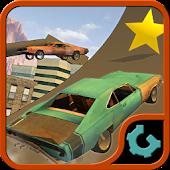 Rooftop Car Stunts 3D