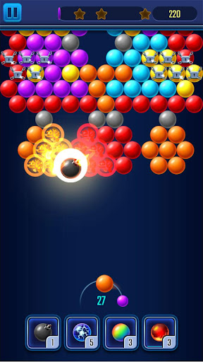 Bubble Shooter Light apkmind screenshots 1