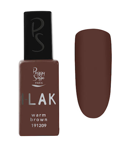 Gelelack I-LAK warm brown 11ml