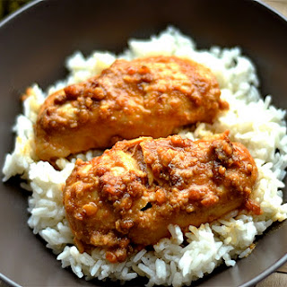 Slow Cooker Peanut Butter Chicken.