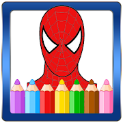 Coloring Book for the amazing spider hero 1.1