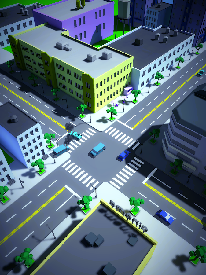 Crossroad crash- screenshot