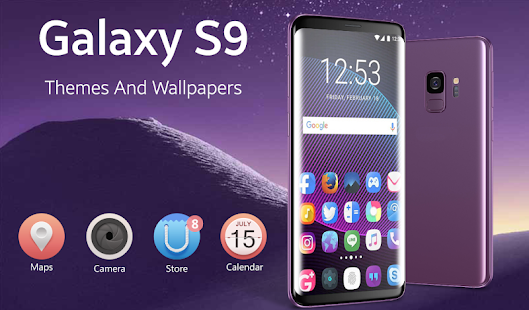 Download Samsung S9 theme and wallpapers-Galaxy S9 launcher