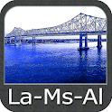 Louisiana Mississippi Alabama icon