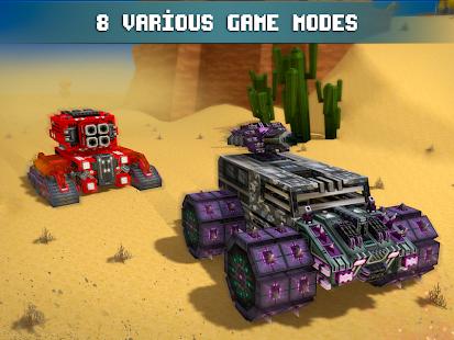 Blocky Cars - Online Shooting Game Screenshots
