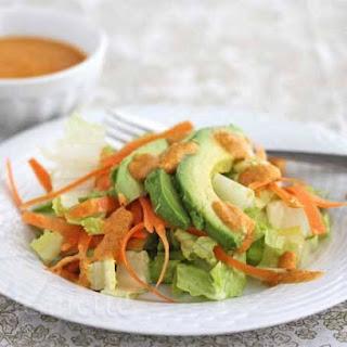 Japanese Ginger Salad Dressing.