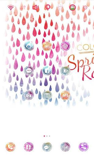 Spring Rain Special theme