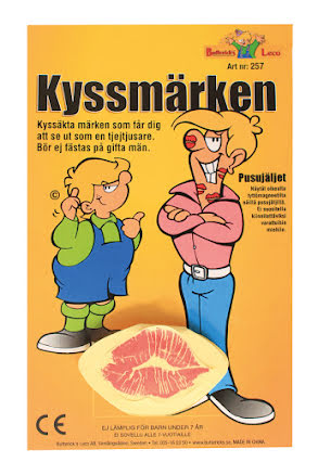 Kyss, klistermärken
