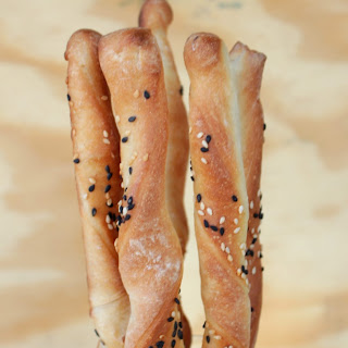 G for Grissini | Traditional Italian Breadsticks.