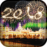 2018 New Year Live Wallpaper Icon