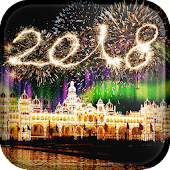 2018 New Year Live Wallpaper