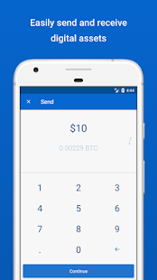 Coinbase - Buy Bitcoin & more. Secure Wallet. - náhled