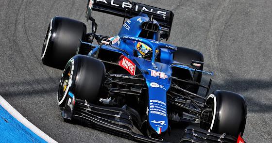 El Alpine F1 Team terminó con ambos autos dentro de los diez primeros en Holanda