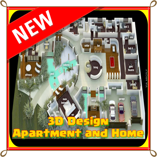 3D Design apartment and home 遊戲 App LOGO-APP開箱王