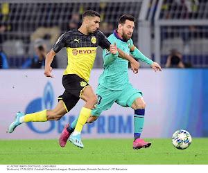 Achraf Hakimi hésite encore entre le le Borussia Dortmund et le Real Madrid