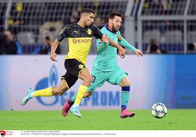 Blijft Achraf Hakimi volgend seizoen bij Borussia Dortmund? Real Madrid heeft een beslissing genomen