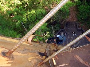 Photo: Fotografiert von oben nach unten, sicher ist was anderes