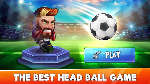 Head Ball - Big Head Puppet Soccer Ball Game 1.2 screenshots 1