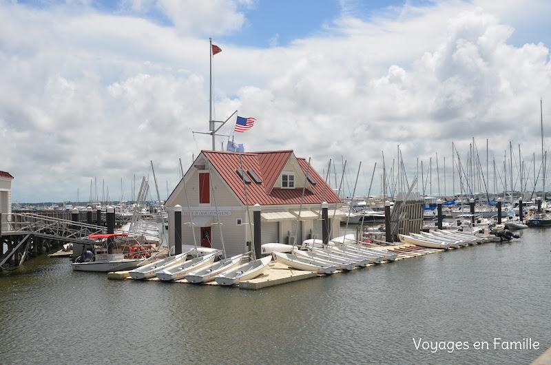 patriots' point marina