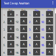 Test Cevap Anahtarı