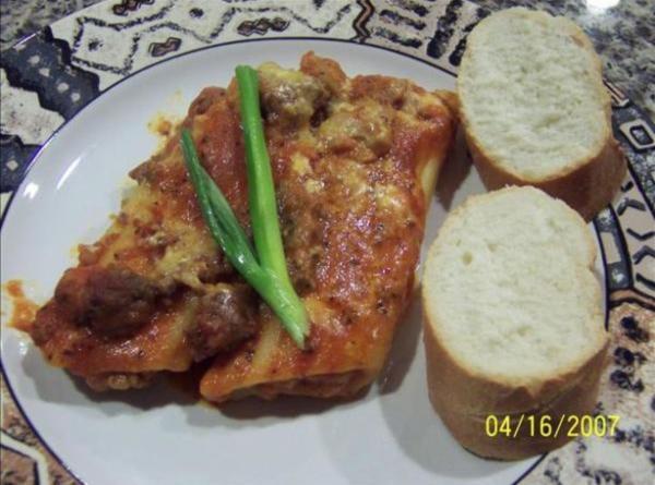 Super Easy Working Mom's Manicotti Recipe